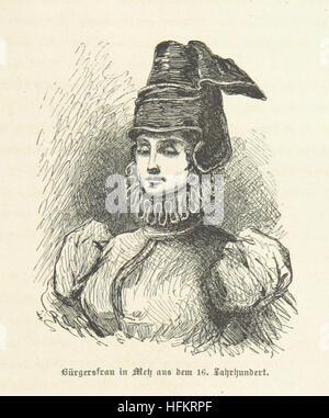 Image taken from page 27 of 'Bilder aus Elsass Lothringen. Original-Zeichnungen von R. Assmus ... Schilderungen - Stock Photo