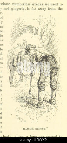 Image taken from page 285 of 'Life on the Mississippi. By Mark Twain (Samuel L. Clemens) ... With more than 300 - Stock Photo