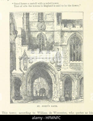 Image taken from page 38 of '[Bristol Cathedral.] Ward and Lock's Illustrated Historical Handbook to Bristol Cathedral, - Stock Photo
