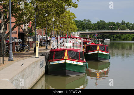 Canal Boats - Stock Photo