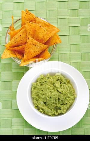 how to make nachos avocado dip