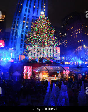 84th rockefeller center christmas tree lighting in new york city featuring tree where nyc - New York Christmas Tree Lighting