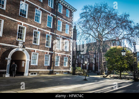 Middle Temple Hall, Inns of Court, London, UK, - Stock Photo