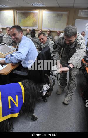 101211-F-6684S-161 KABUL, Afghanistan (Dec. 11, 2010) Gen. David H. Petraeus, center, commander of the NATO International - Stock Photo
