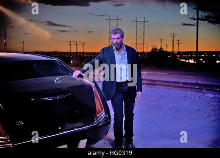 LOGAN 2016 Twentieth Century Fox  film with Hugh Jackman - Stock Photo