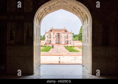 Itimad-ud-Daulah Entrance Gate ( Baby Taj Stock Photo ...