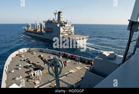 ATLANTIC OCEAN (Jan. 29, 2013) The amphibious transport dock ship USS San Antonio (LPD 17) approaches the Military - Stock Photo