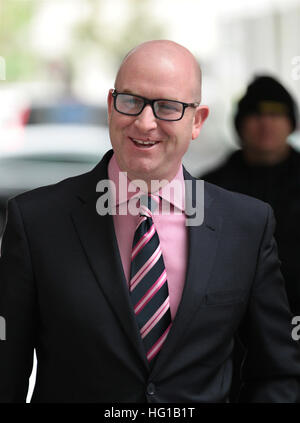 Paul Nuttall MEP  seen at the BBC Studios in London, UK , 20, Nov 2016 - Stock Photo