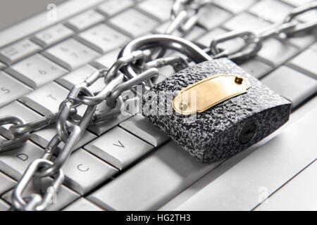 Computer security concept - Stock Photo
