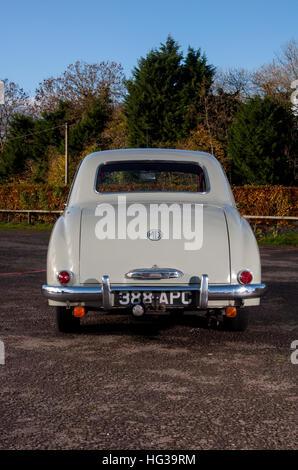 MG Magnette ZA classic British sports saloon car - Stock Photo