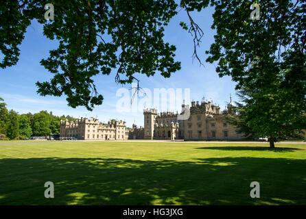 Floors castle, Kelso, Scottish Borders, home of the Duke of Roxburghe. - Stock Photo