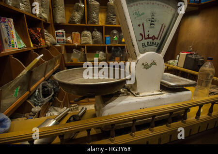 The Khan El Khalili Souk and Islamic Quarter of Cairo Egypt - Stock Photo
