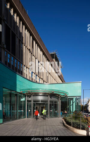 Bristol Royal Infirmary, Bristol, UK. Redevelopment. - Stock Photo