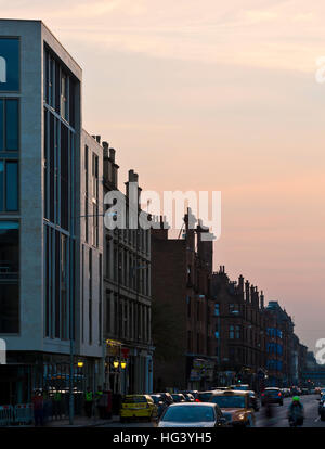Hyndland House Student Accommodation, Partick, Glasgow, Scotland, UK. Exterior view. - Stock Photo