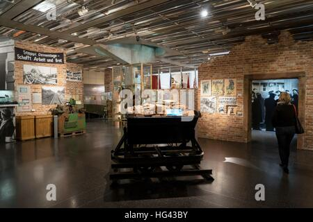 Germany: Museum 'Haus der Geschichte' about Germany's contemporary history. Photo from 03. December 2016. | usage - Stock Photo