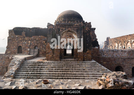 Jami Masjid in Feroz Shah Kotla - Stock Photo