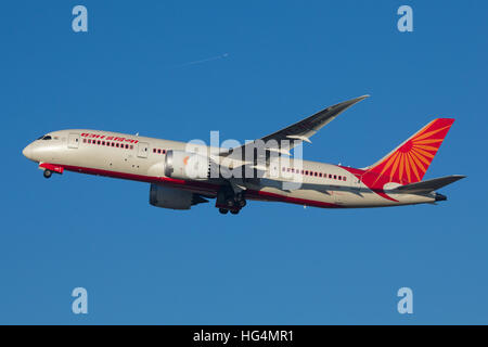 Air India Boeing 787 Dreamliner Aircraft - Stock Photo