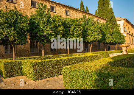 town Ubeda, Zona Monumental, UNESCO world heritage site, Andalusia, province Jaen, Spain - Stock Photo
