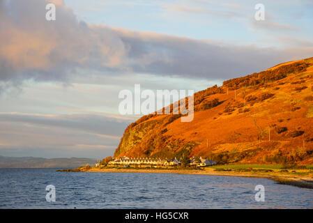 Catacol, Isle of Arran, North Ayrshire, Scotland, United Kingdom - Stock Photo