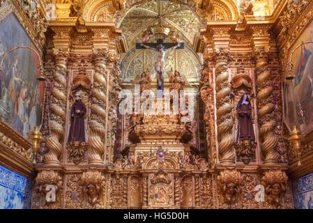 Royal Church of St. Francis, Evora, UNESCO, Portugal - Stock Photo