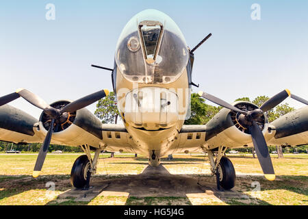 Boeing B-17G-97-DL Flying Fortress, 44-83863, then U.S. Navy PB-1W, BuNo 77231, then civilian firebomber N5233V, - Stock Photo