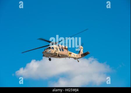 Israel, IDF, Sikorsky UH-60 Black Hawk helicopter Stock Photo