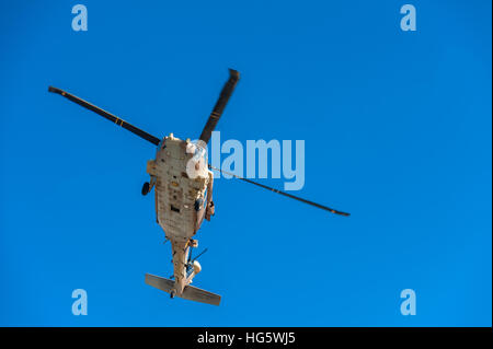 Israel, IDF, Sikorsky UH-60 Black Hawk helicopter - Stock Photo