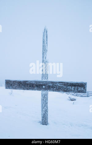 Temperatures hovered around -5 Centigrade in Salla, Finand this morning, Saturday 24th December.. - Stock Photo