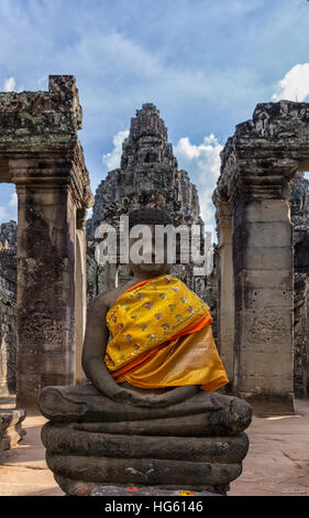 Angkor wat temple in Siem Reap city in Cambodia Asia - Stock Photo