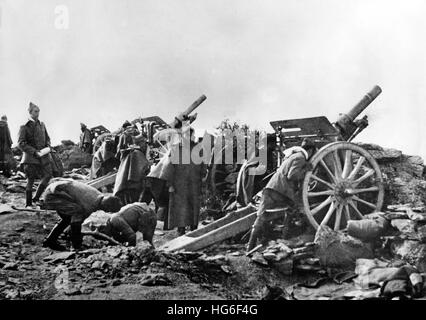 The Nazi propaganda picture shows troops of the Popular Front (Frente Popular) on the Guadarrama front during the - Stock Photo