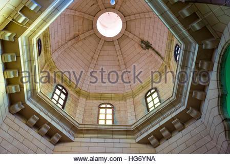 Saint Joseph or San Jose Catholic church interior details. Cupola details.  Beautiful colonial architecture in the - Stock Photo