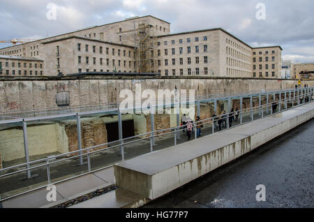 Topography of Terror on a gray day - Stock Photo