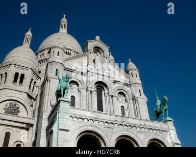 La Basilique du Sacré Cœur de Montmartre - Stock Photo