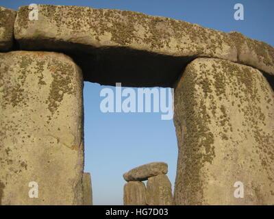 Stonehenge in England - Stock Photo