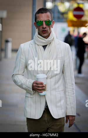 Richard Ashcroft seen at MediaCityUK, Salford, UK. - Stock Photo