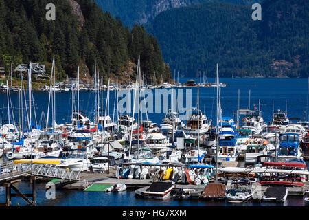 Deep Cove Marina Village Vancouver British Columbia Canada