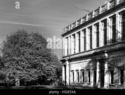 Wren library at Trinity college, university of Cambridge, England. - Stock Photo