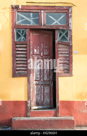 Street Scene, Trinidad, Cuba - Stock Photo