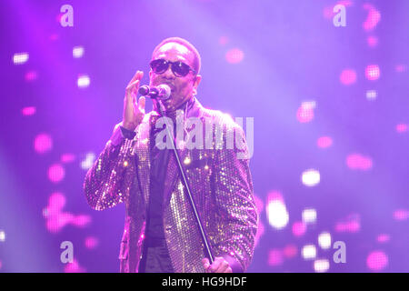 Charlie Wilson performs at the 2015 Essence Music festival at the Superdome on July 3rd, 2015 in New Orleans, Louisiana. - Stock Photo