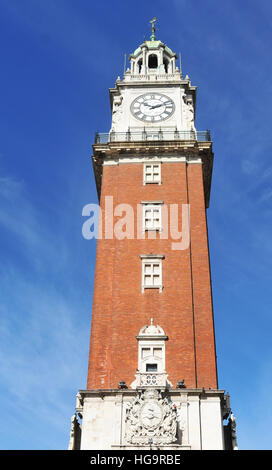 Torre Monumental  Torre de los Ingleses ( Tower of the english ) Buenos Aires Argentina - Stock Photo