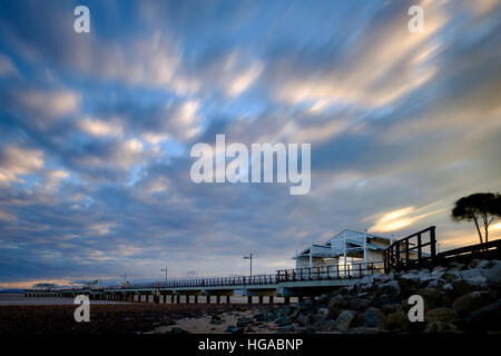 Woody Point Jetty - Stock Photo