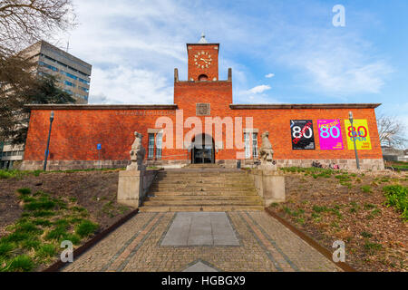 Eindhoven, Netherlands - April 12, 2016: Van Abbemuseum in Eindhoven. It is a museum of modern and contemporary - Stock Photo