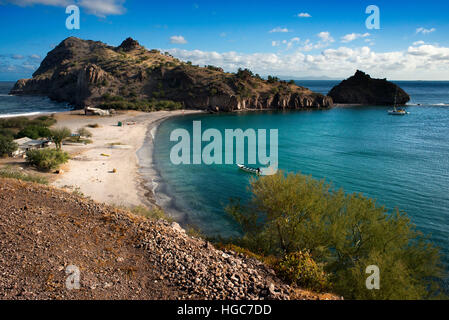 Agua Verde Bay, Sea of Cortes, Baja California Sur, Mexico. - Stock Photo