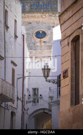 beautiful town of ostuni in puglia,italy