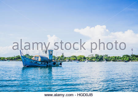 Puerto Jimenez Harbour, Osa Peninsula, Costa rica, Central America 2015 - Stock Photo