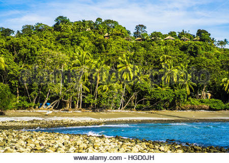 Exploring the rural coast of Costa rica, Osa peninsula, Costa rica, Central America 2015 - Stock Photo