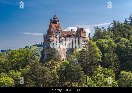 Romania, Transylvania, Bran City, Bran Castle, Dracula Castle, - Stock Photo
