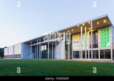 Germany, Bavaria, Munich, The Pinakothek Museum of Modern Art (Pinakothek der Moderne) - Stock Photo