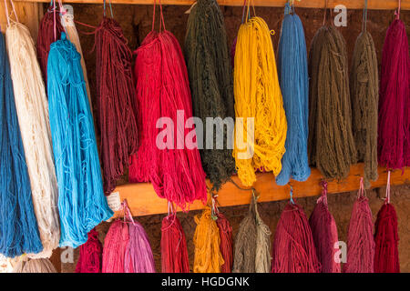 Women's cooperative for textile production, - Stock Photo