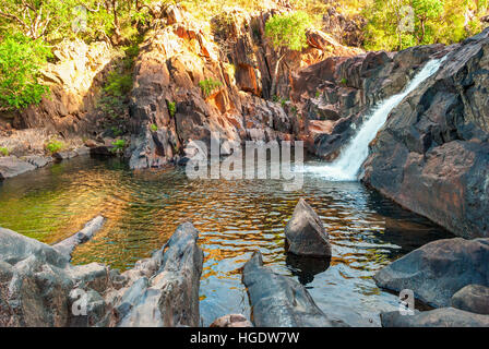 Kakadu National Park (Northern Territory Australia) landscape near Gunlom lookout - Stock Photo